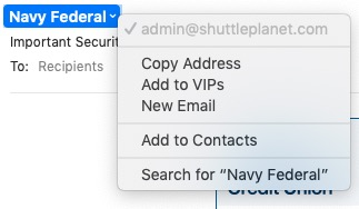 Navy email