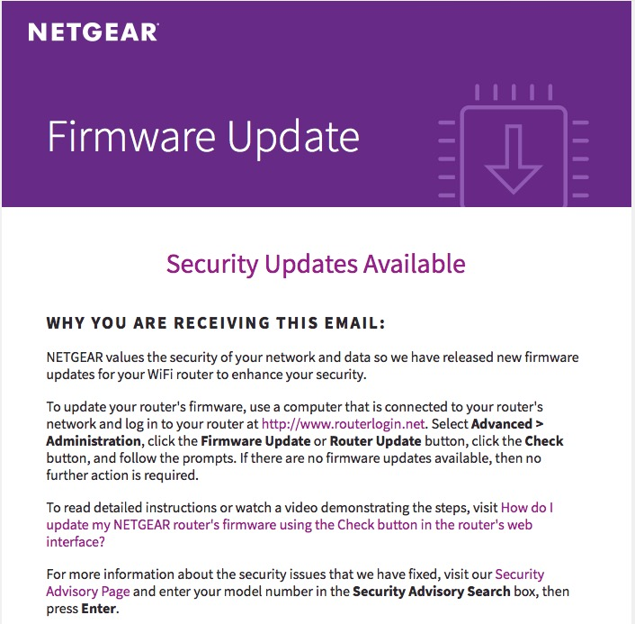 Remember to Update your WiFi Router Firmware to Stay Secure