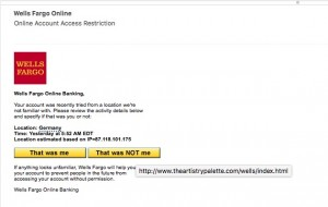 WFB phishing