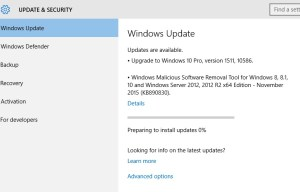 Windows 10 – November Update