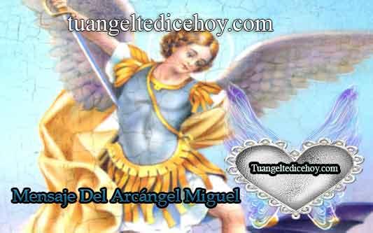 MENSAJE DEL ARCÁNGEL MIGUEL PARA HOY 13 DE JUNIO