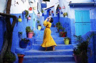 [摩洛哥自助旅行] 舍夫沙萬藍色山城遊記。舍夫沙萬攝影景點,餐廳推薦(Chefchaouen )