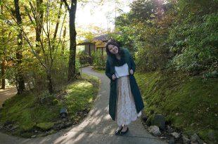 [自助旅行][穿搭] 棕色穿搭與綠色穿搭,九州行穿搭