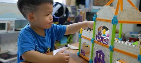 [育兒] 小行星STEAM系列:小小藝術建築師-魔幻城堡試玩