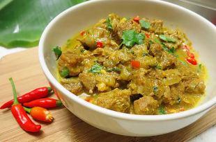 [食譜] 印度咖哩炒豬肉