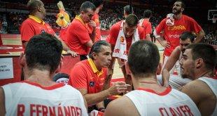 Banquillo España - FIBA Mundial