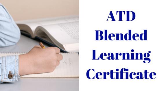 ATD Blended Learning Certificate