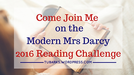 Come Join Me on the Modern Mrs Darcy 2016 Reading Challenge