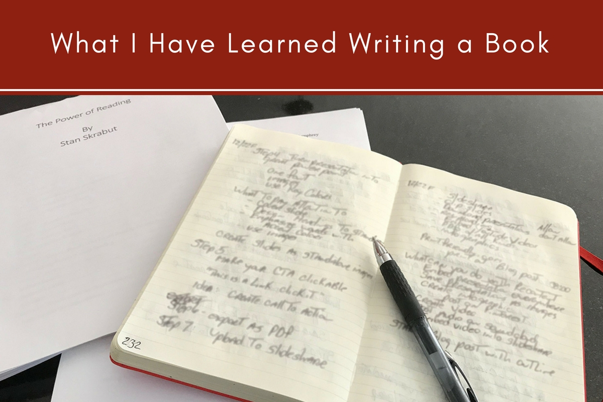 What I Have Learned Writing a Book