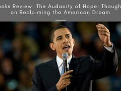 Books Review: The Audacity of Hope: Thoughts on Reclaiming the American Dream