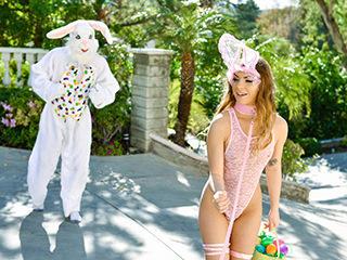 Mini Easter Bunny Babe Gets Slammed (Exxxtra Small)