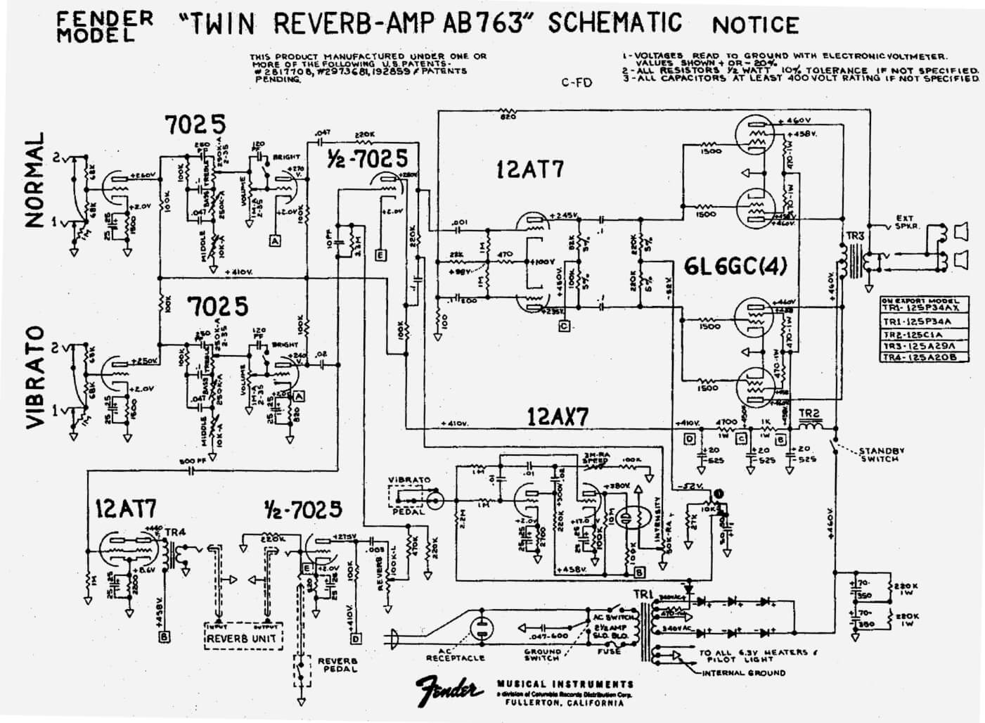 2 Channel Amp Schematic