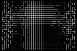 Stare at the center of this grid for a while, and the outer edges will seem to 'repair' themselves