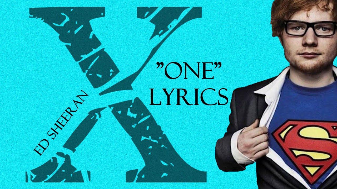 Ed Sheeran One