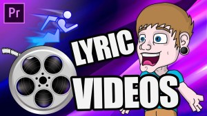 How To EDIT Lyric Videos FAST!