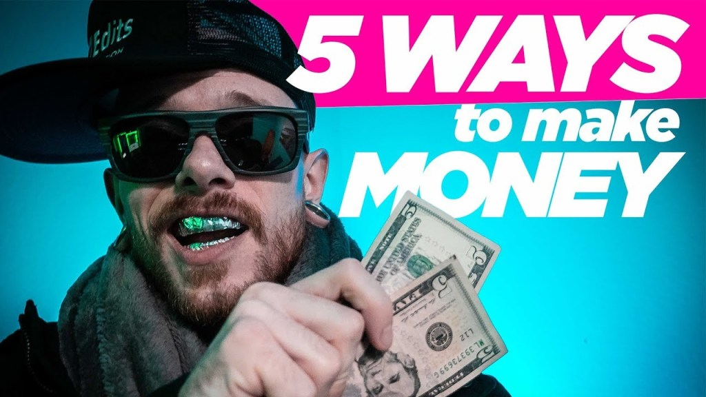 5 Ways to MAKE MONEY on YouTube