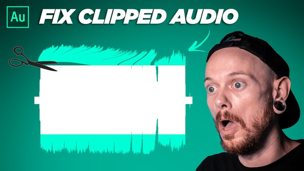 How to Fix Clipped Audio | Adobe Audition 2020