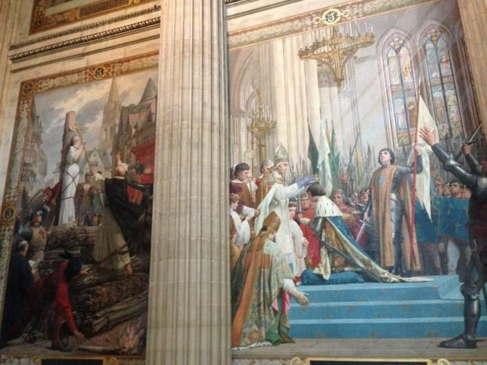 Joan D'Arc Mural