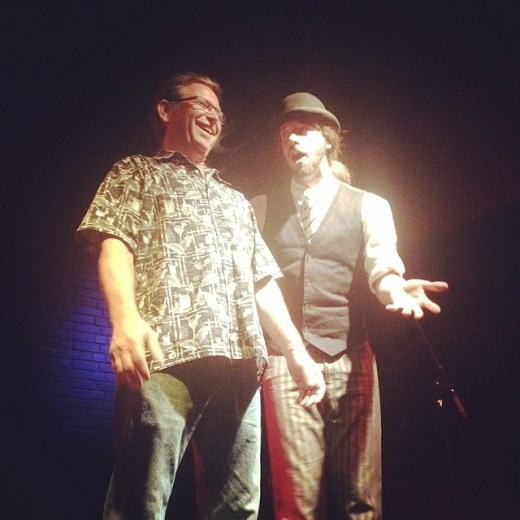 Magic Alex and Steve Uroff.