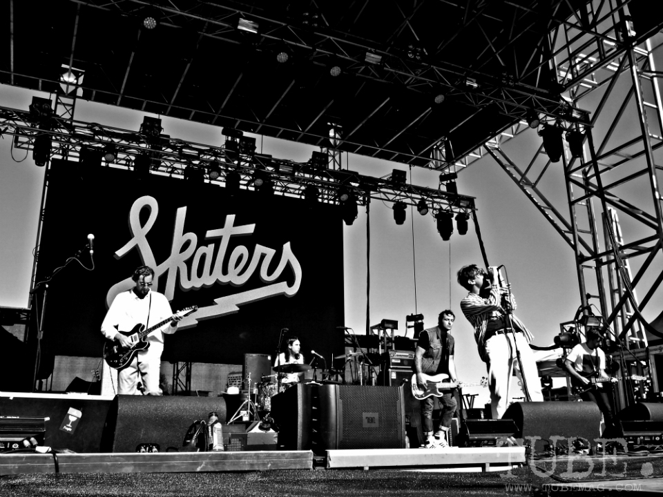 Sacramento TBD Fest 2014. Skaters energizing the stage on Saturday afternoon. Photo Sarah Elliott