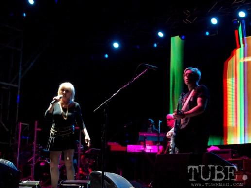 Sacramento TBD Fest 2014. Blondie putting on quite a show at TBD. Photo Sarah Elliott