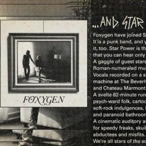 Foxygen …And Star Power.