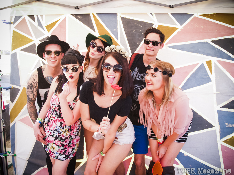 Giggle and Riot Photo Booth was a hit at Sacramento's TBD Fest 2014. Photo Kate Gonzales.