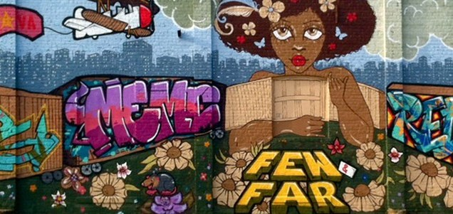 2013 RVA festival mural by Far and Few