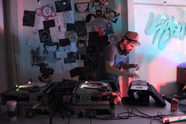 DJ Canule Tropical. Sol Collective. Sacramento CA.  2015 Photo Giovanni Martinez.
