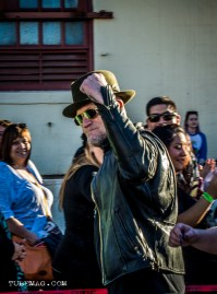 Michael Rooker aka Merle from The Walking Dead loves to walk the crowds