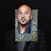 Joe Bastianich by Rinat Shingareev. Oil On Canvas
