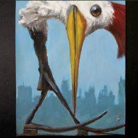 Peckered by Gregory Hergert