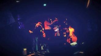 Sour Mash Mug Band playing at the TUBE. Circus on May 15, 2015, at the Blue Lamp in Sacramento CA. Photo Gabriel Levan Aiello.