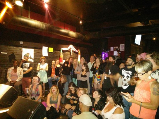 A full house at the Blue Lamp for the TUBE. Circus located in Sacramento CA. May 15, 2015. Photo Naomi Lucchesi