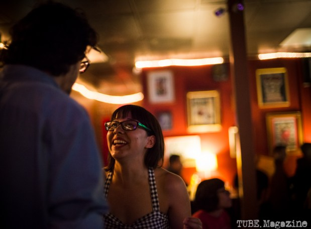 Kate Gonzales at The Hideaway in Sacramento CA. May 2015. Photo Melissa Uroff