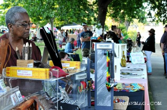 Sacramento First Festival 2015. Sacramento vendor. Photo Emma Montalbano.