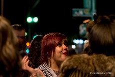 Tiffany Allen enjoying the TUBE. Circus at the Blue Lamp in Sacramento CA. May 15, 2015. Photo Sarah Elliott.
