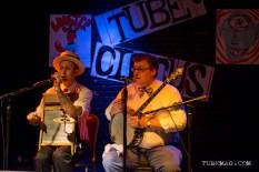 The Freebadge Serenaders playing at the TUBE. Circus on May 15, 2015, at the Blue Lamp in Sacramento CA. Photo Sarah Elliott.