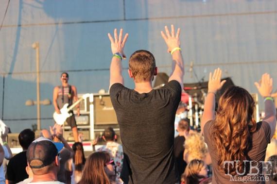 The crowd enjoying Pepper at Thunder Valley, Sacramento CA. 2015 Photo Danielle.