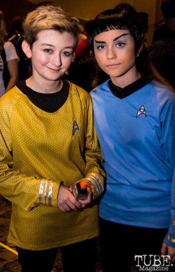 Star Trek Cosplayers. Sacramento Wizard World Comic Con 2015. Photo Sarah Elliott