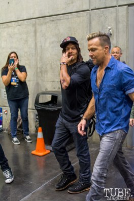 Norman Reedus and Sean Patrick Flanery. Sacramento Wizard World Comic Con 2015. Photo Sarah Elliott