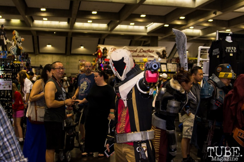 Cosplayer Sacramento Wizard World Comic Con 2015. Photo Sarah Elliott
