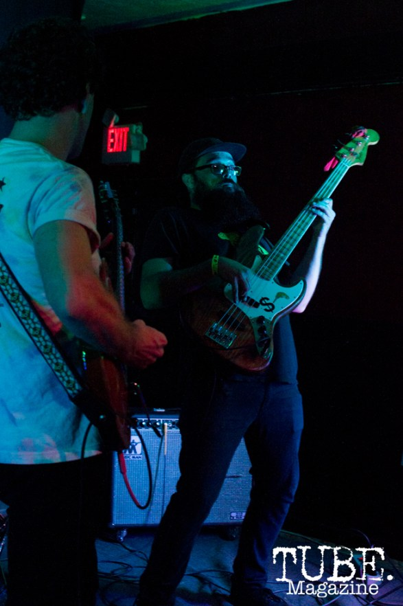 Cash Pony playing at Cafe Colonial in Sacramento, CA. August 2015. Photo Alejandro Montaño