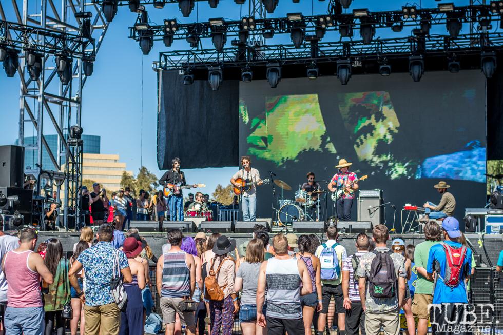 Allah-Las at TBD Fest, Sacramento CA. 2015 Photo Sarah Elliott