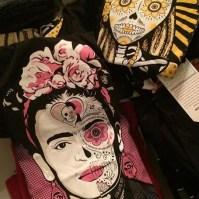 Frida Kahlo and Calevera shirts by Maldicion