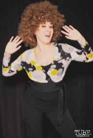 70s Dancing Queen. Photo Sarah Elliott. 2015.