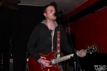 Singer/Guitarist Jeff Sifferman of Coyote Bred, Café Colonial, Sacramento, CA.January 8,2016. Photo Anouk Nexus