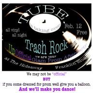 redue trash rock flyer