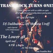 Trash Rock Flyer