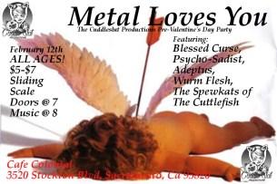 metal loves you